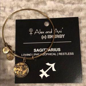 Alex and Ani Charm bracelet - Sagittarius charm